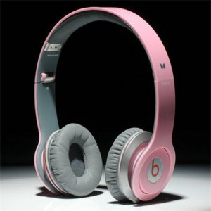 Beats By Dr Dre Solo HD High Performance Headphones Pink