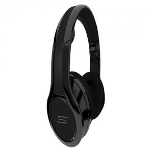 SMS Audio STREET by 50 Cent Over-Ear Wired DJ Headphone – Black