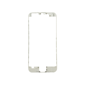 iPhone 12 Front Frame with Hot Glue - White