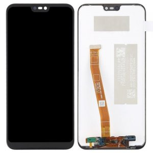 High Quality LCD Screen and Digitizer Full Assembly for Huawei Nova 3e - BLACK