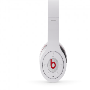 Beats By Dr Dre Wireless Bluetooth Over-Ear White Headphones