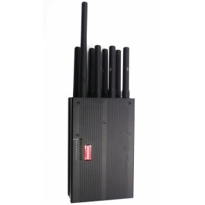 Handheld Selectable 8 band All Cell Phone Signal Jammer & WiFi GPS L1 All in one Jammer High-capacity (USA Version)