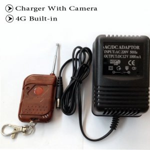 4GB AC/DC Adapter Spy Camera DVR with Remote Control