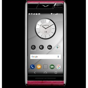 Vertu Aster Raspberry Ostrich Clone Android 9.1 Snapdragon 821 4G LTE luxury Phone