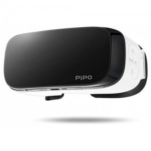 Pipo V2 3D VR Glasses Game - WHITE AND BLACK