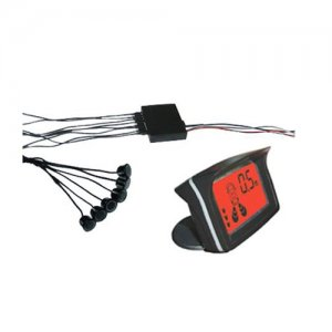 NRD058C6 Colorful LCD With 6 sensors Parking Sensor