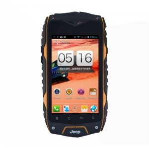 Z6+ Smartphone Outdoor Sports IP68 Waterproof MTK6582 Quad Core Android 9.1 3G GPS - Orange