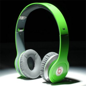 Beats By Dr Dre Solo HD High Performance Headphones Green