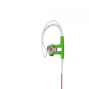 Green Sport Headphones with Remote Control | Powerbeats from Beats by Dre Headphones