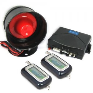 LED Indicator Two-way LCD Vehicle Security and Engine Starter System
