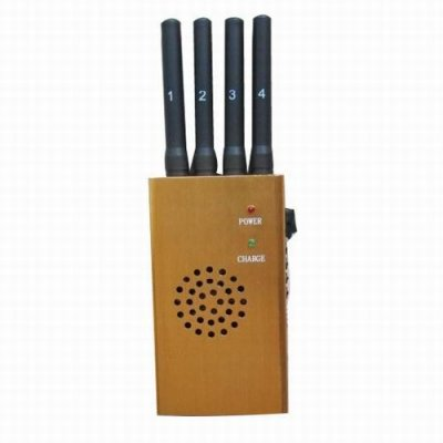 High Power Portable GPS and Cell Phone Jammer(CDMA GSM DCS PCS 3G)