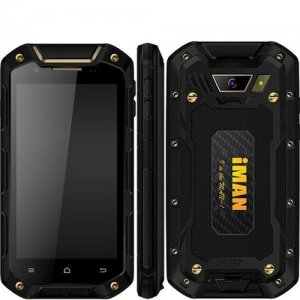 iMAN i5800C Rugged Smartphone 4.5'' HD Screen MTK6582 Android 9.1 1G/8GB IP67 Waterproof