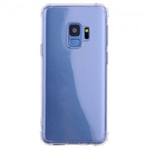 Case for Samsung S9 Ultra-Slim Shockproof Transparent Back Cover - TRANSPARENT