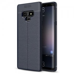 Case for Samsung Galaxy Note 9 Shockproof Back Cover Solid Color Soft TPU - CADETBLUE
