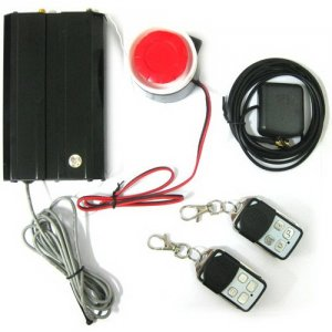Intelligent Wireless GSM Car Alarm System with GPS
