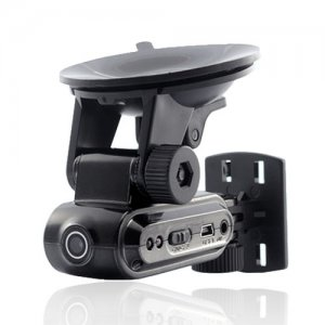 Popular Mini DVR with GPS Navigator Mount Supports TF Card