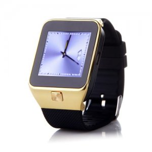 ZGPAX S28 Watch Phone 1.54 Inch Screen Smart Bluetooh Sync FM Single SIM - Golden