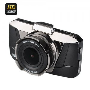 Full HD Car DVR - 3.0 Inch LCD Screen, 1080P, 170 Degree Wide Angle Lens, G-Sensor