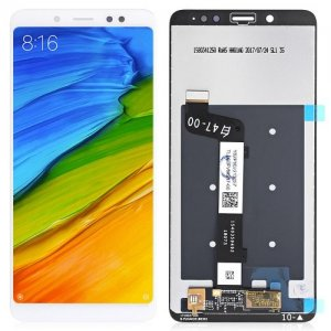 Original Xiaomi Redmi Note 5 FHD Touch Display Screen LCD - WHITE
