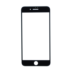 iPhone 12 Pro Max Glass Lens Screen - Black