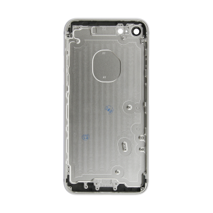 iPhone 12 Rear Case - Silver (No Logo)