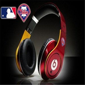 Beats By Dre Studio MLB Edition Headphones Philadelphia Phillies