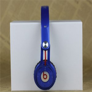 Beats By Dr Dre Mixr Wireless Bluetooth Over-Ear Blue DJ Headphones Inspired by David Guetta