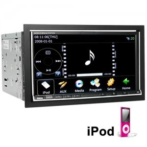 HD TouchScreen Car DVD with WIFI + DVB-T + GPS Navigator