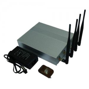 Mobile Phone Jammer - 10m to 40m Shielding Radius - with Remote Controller