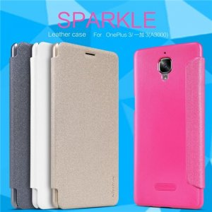 Nillkin New Sparkle Leather Case for OnePlus 3