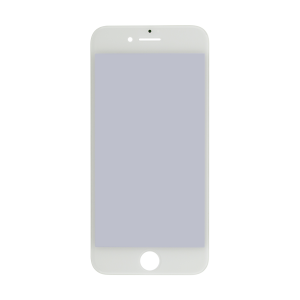 iPhone 12 Glass Lens Screen, Frame, OCA and Polarizer Assembly (CPG) - White