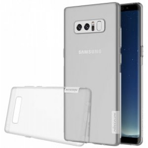 NILLKIN Durable Cover for Samsung Galaxy Note 8 - TRANSPARENT GRAY