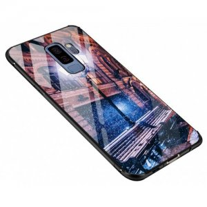 Pattern Steel Glass Phone Case for Samsung S9 - MULTI-D