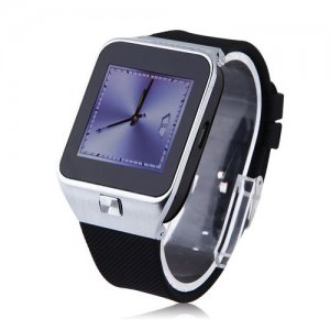 ZGPAX S28 Watch Phone 1.54 Inch Screen Smart Bluetooh Sync FM Single SIM - Silver