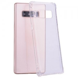 Case for Samsung Note 8 Ultra-Slim Shockproof Transparent Back Cover - TRANSPARENT