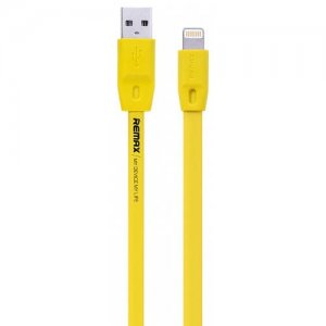 REMAX 1 Meter and 2 Meter Full Speed Data Cable - YELLOW