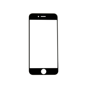 iPhone 12 Pro Glass Lens Screen - Black