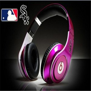 Beats By Dre Studio MLB Edition Headphones Chicago White Sox