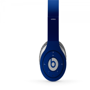 Beats By Dr Dre Wireless Bluetooth Over-Ear Blue Headphones