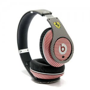 Beats By Dr Dre Studio Ferrari Racing Ultimate Headphones Black