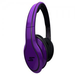 SMS Audio STREET by 50 Cent Limited Edition Over-Ear Wired Headphone – Blue Violet