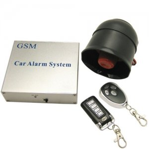 Wireless GSM Car Alarm Device with Remote Monitoring and Control