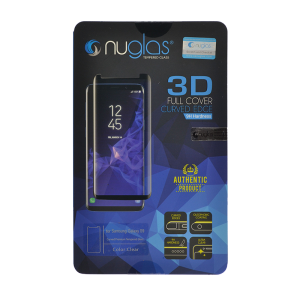 NuGlas Tempered Glass Screen Protector for Samsung Galaxy S9 (3D)