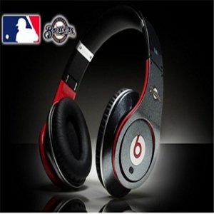 Beats By Dre Studio MLB Edition Headphones Milwaukee Brewers