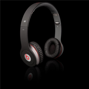 Beats By Dr Dre Solo High Performance On-Ear Headphones-Black