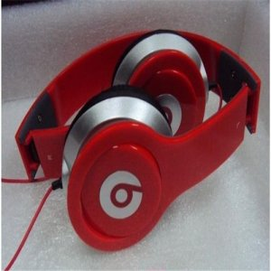 Monster Beats By Dr. Dre Solo HD Headphones Mini Red