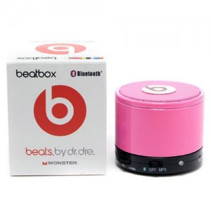 Beats By Dr Dre Beatsbox Portable Bluetooth Mini Rose Speakers