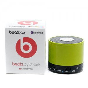 Beats By Dr Dre Beatsbox Portable Bluetooth Mini Speakers Green