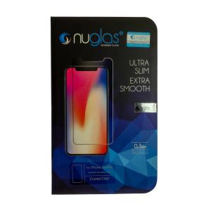 NuGlas Tempered Glass Screen Protector for iPhone XS Max (2.5D)