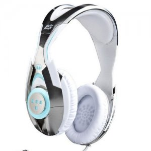 Monster Tron T1 Daft Punk Over Ear Headphones White